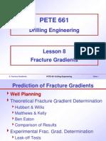 8. Fracture Gradients