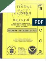 HACCP Manual Del Estudiante USDC NOAA
