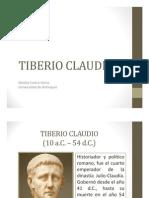 Unidad 11 Tiberio Claudio - Natalia Castro Serna