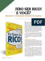 Revista Investmais Livro Do Mes Eu Quero Ser Rico