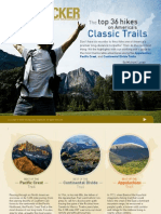 Top 36 Hikes on Americas Classic Trails by Backpacker Magazine