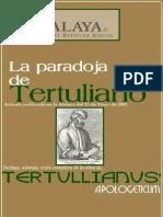 Tertuliano -Apologeticum-Incluye Articulo Atalaya Mayo 2002