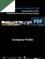 TimeframeGroup,Pty Ltd, Company Profile
