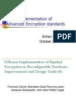 Advanced Encryption  Standard Hardware