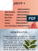 Ppt Noise Pollutions Group 4