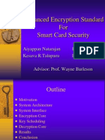 advanced encryption standard Smart Card