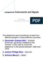 Telephone Instruments and Signals