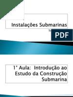 Aulas de instalaçoes submarinas