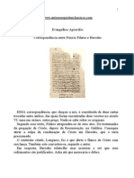 apócrifos - correspondência entre pôncio pilatos e herodes