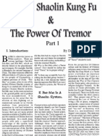 Bai Mei Shaolin Kung Fu and the Power of Tremor