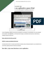 Zero Hora Inova No Aplicativo Para iPad - Geral - Zero Hora