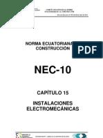 (NEC2011-CAP.15 INSTALACIONES ELECTROMECÁNICAS-021412)