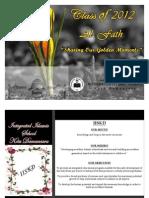 "IISKD Yearbook ""Al-Fath Class of 2012"""