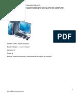 Primer Contacto Ensamble y Desensamble de Equipo de Computo