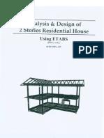 2 Stories house Design in Etab