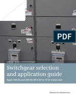 Switchgear Selection and Application Guide