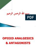 2. Opioid Analgesics & Antagonists