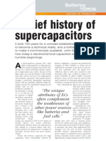 A Brief History of Supercapacitors
