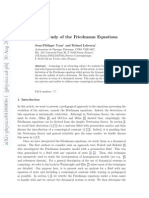 A Dynamical Study of the Friedmann Equations