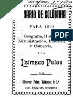 ANUARIO DE COLOMBIA. GEOGRAFÍA, HISTORIA, ADMINISTRACIÓN, INDUSTRIA Y COMERCIO. 1930