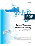ColdWAR January 2008 Large Tonnage Process Cooling