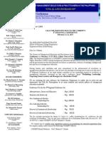 4th COMEPP Regional Conference - Mindanao