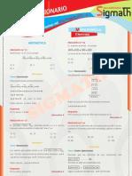 Solucionario 1er Axamen - Matematica - Cpu - Sigmath - 2011