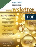 Timeframe Group, Pty Ltd Newsletter Dec2011