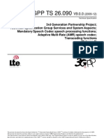 3GPP TS 26_090 AMR