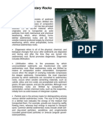 Chapter 6 Outline - Sedimentary Rocks
