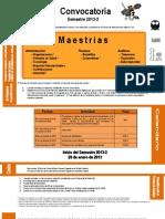 Conv Maest 2013-2