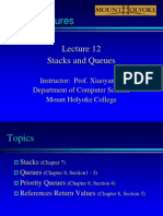Lecture12-StackQueue