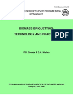 Biomass Briquetting