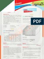 Solucionario 1er Simulacro Cpu - Sigmath 2011 - II