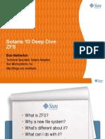 ZFS Deep Dive
