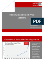 Housing Supply and Price Volatility (Feb 2013)