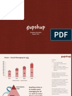 GupShup Overview 2012_Version2