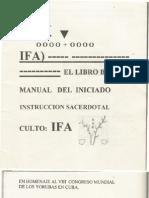 El Libro Blanco de Ifa Manual Del Iniciado