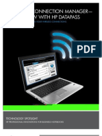 Hp Connection Manager Now With Datapass