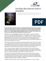 Results Daya Bay Kind Neutrino