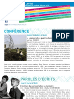 La lettre de l'IFM du 17 au 22 février 2013