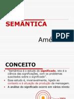 Cap 1 interpretação - Semântica