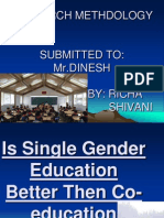 ASSIGNMEIs Single Gender Education Better Then Co-  educationNT – 1