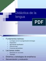 Didáctica de la lengua Atenas