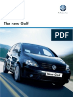 Golf VW Brochure