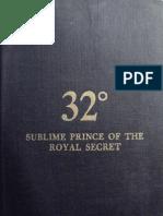 32 Degree Sublime Prince of the Royal Secret