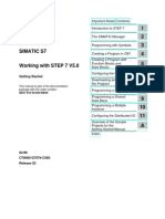 Siemens Simatic S 7 300 - 400 - Working With STEP 7