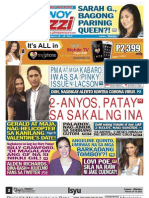 Pinoy Parazzi Vol 6 Issue 29 February 18 - 19, 2013