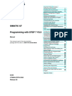 Siemens Simatic S 7 300 - 400 -Programming With STEP 7