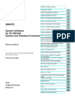 Siemens Simatic S 7 300 - 400 -System and Standard Functions for S7-300 and S7-400